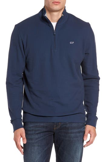 vineyard vines Breaker Saltwater Quarter Zip Pullover