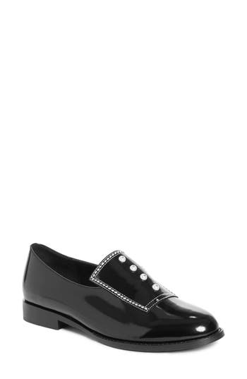 Opening Ceremony Leah Imitation Pearl Loafer, Black