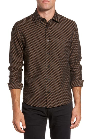 Men's Billy Reid Kirby Slim Fit Print Sport Shirt