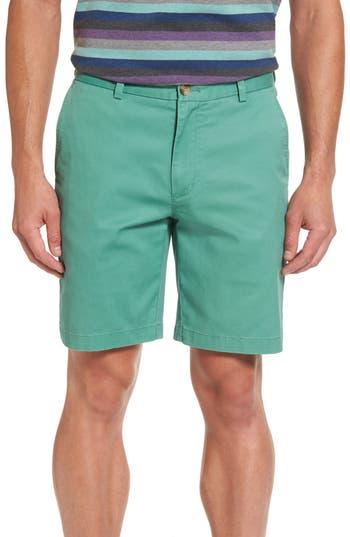 Vineyard Vines 9 Inch Stretch Breaker Shorts, Green