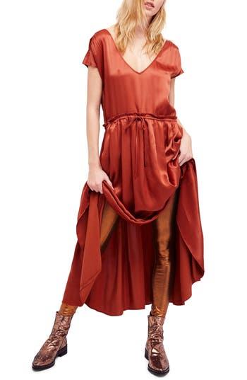 Free People Love & Feeling Maxi Dress, Red