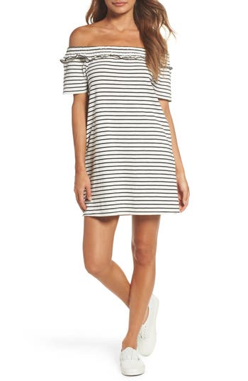 Women's Knot Sisters El Ranchito Stripe Dress, Size Small - Ivory