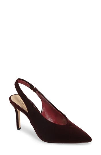 Imagine By Vince Camuto Melea Slingback Pump, Red