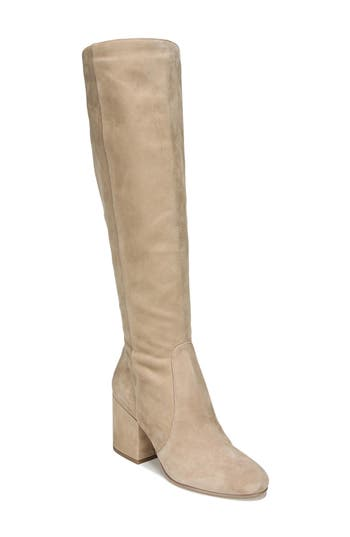 Sam Edelman Thora Knee High Boot- Beige