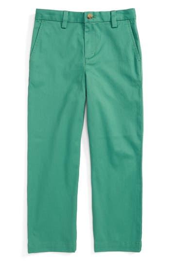 Boy's Vineyard Vines 'Breaker' Pants, Size 5 - Green