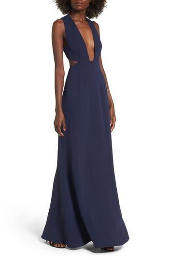 Nbd Yani Gown, Blue