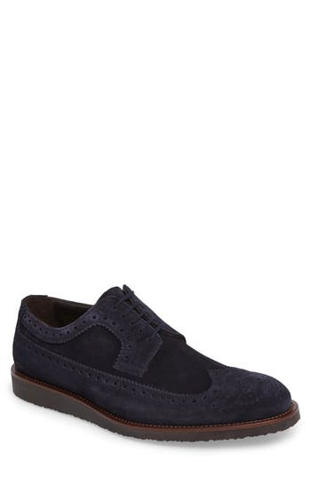 To Boot New York Hillsdale Longwing Derby, Blue