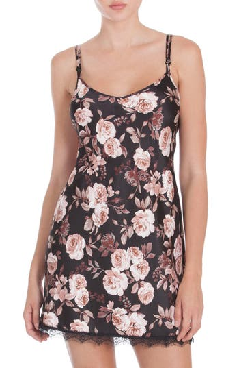 Women's Midnight Bakery Floral Print Chemise