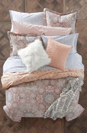 Bcbgeneration Kaleidoscope Medallion Comforter & Sham Set, Size Twin X-Long - Pink