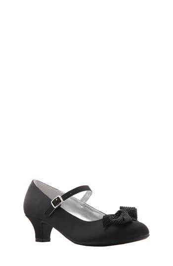 Girl's Nina Tamela Mary Jane Bow Pump