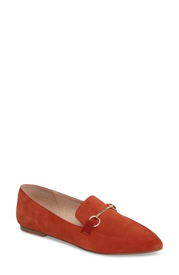 Kristin Cavallari Cambrie Loafer Flat- Orange