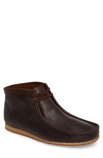 Clarks Wallabee Moc Toe Boot, Brown