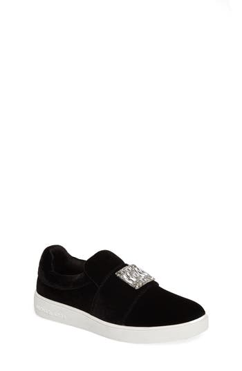 Girls Michael Michael Kors Ivy Dream Embellished SlipOn Sneaker