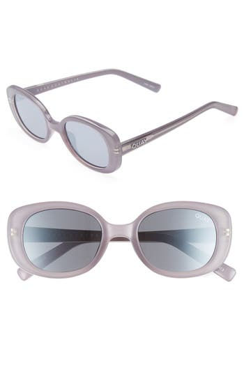 Quay Australia Lulu 4m Sunglasses - Lilac/ Silver