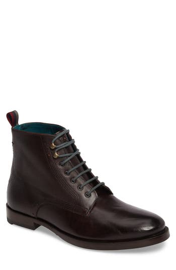 Ted Baker London Dhavin Embossed Boot, Red