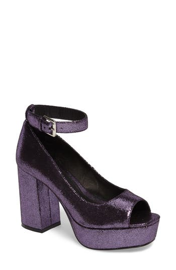 Shellys London Florida Pump Purple