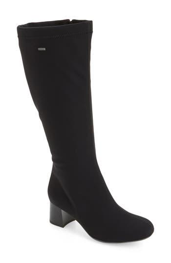 Ara Clarissa Waterproof Gore-Tex Tall Boot, Black