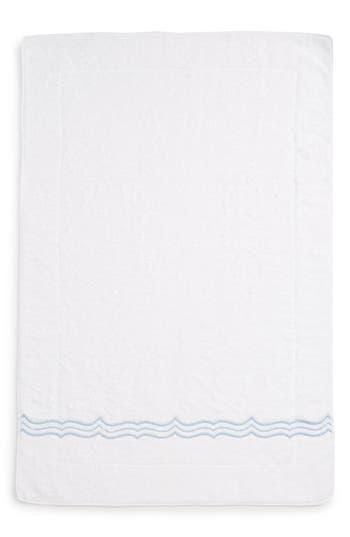 Matouk Paola Bath Mat, Size One Size - Blue