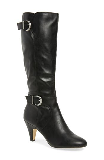 Bella Vita Toni Ii Knee High Boot, Regular Calf N - Black