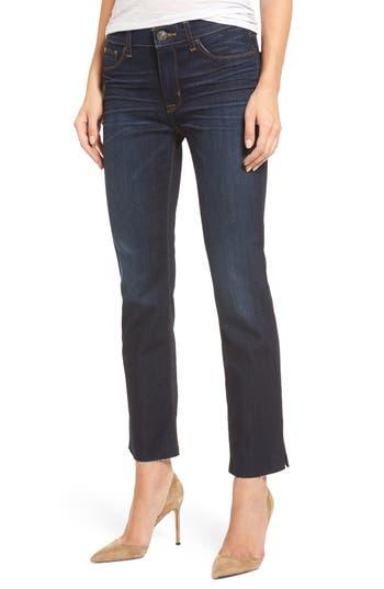 Hudson Jeans Tilda Slit Ankle Skinny Jeans, Blue