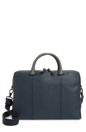 Ted Baker London Pounce Briefcase - Blue