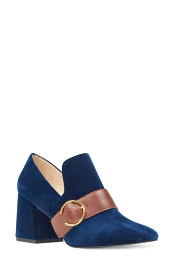 Nine West Alberry Buckle Pump, Blue