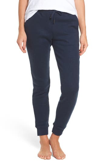 Ugg Merino Wool Jogger Pants, Blue