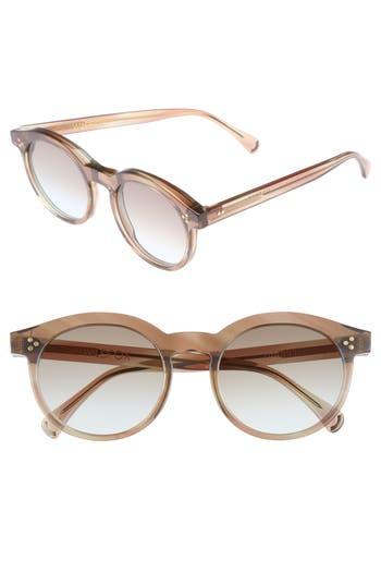 Wildfox Harper Zero 5m Round Keyhole Sunglasses - Galactic