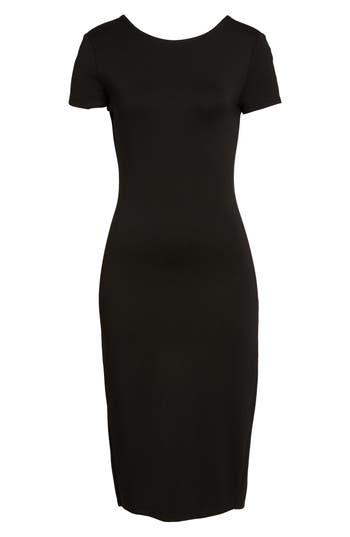 Sentimental Ny Ponte Sheath Dress, Black