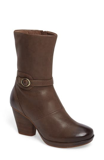 Dansko Marietta Boot-6- Brown