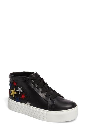 Kenneth Cole New York Janette 2 High Top Platform Sneaker, Black