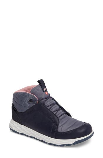 Helly Hansen Ten Below Waterproof High Top Sneaker- Blue