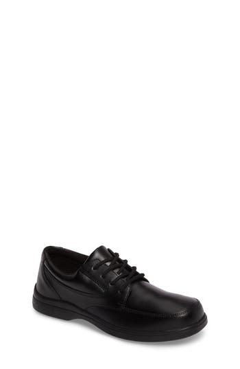 Boys Hush Puppies Ty Dress Shoe Size 4.5 M  Black