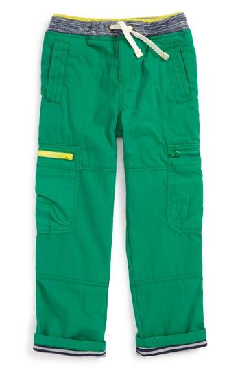 Boys Mini Boden Lined Cargo Pants