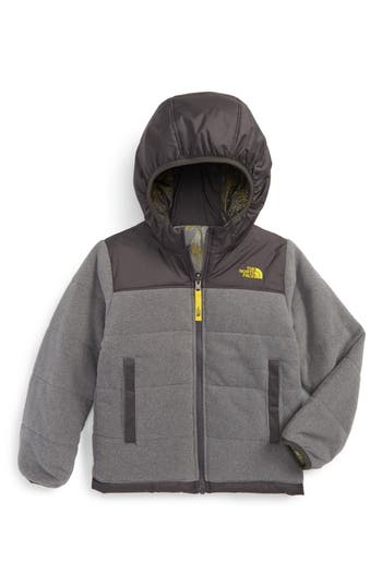 Boys The North Face True Or False Reversible Jacket Size 5  Grey