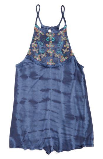 Girls ONeill Elli Embroidered Romper