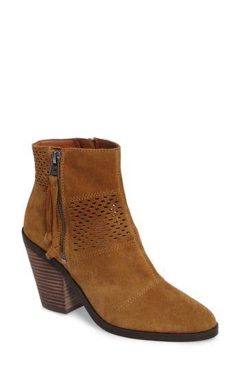 Lucky Brand Ramses Bootie, Brown