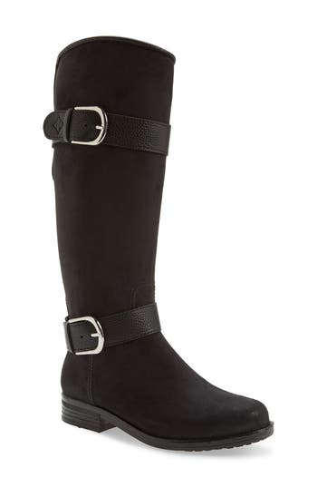 Dav Bristol Water Resistant Boot, Black
