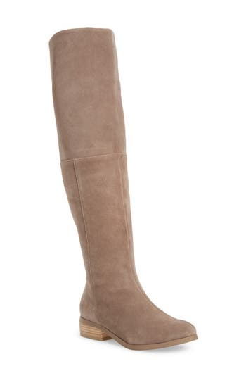 Sole Society Sonoma Over The Knee Boot, Grey