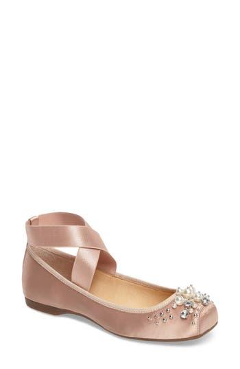 Jessica Simpson Mineah Ballet Flat, Beige