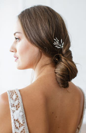 Brides & Hairpins Ida Crystal Pin, Size One Size - Metallic