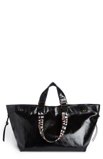 Isabel Marant Small Bagya Leather Tote - Black at NORDSTROM.com