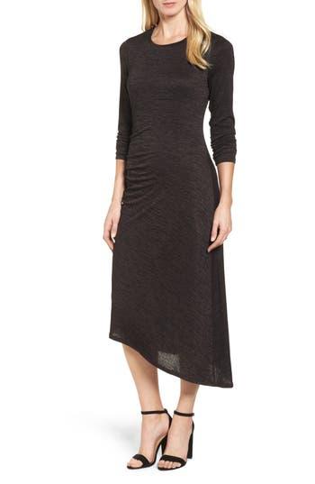 Nic+Zoe Firelight Midi Dress, Brown