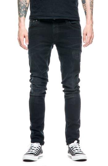 Nudie Jeans Skinny Lin Skinny Fit Jeans, Blue