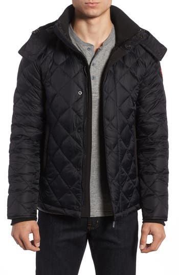 Canada Goose Hendriksen Quilted Down Coat, Black