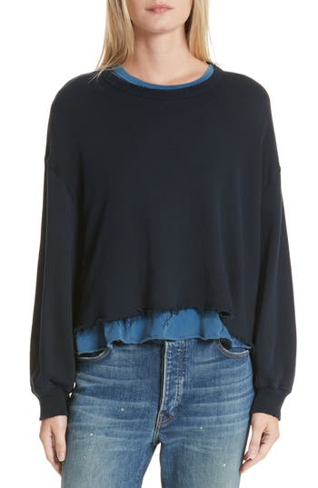 Women's The Great. The Cut Off Sweatshirt at NORDSTROM.com