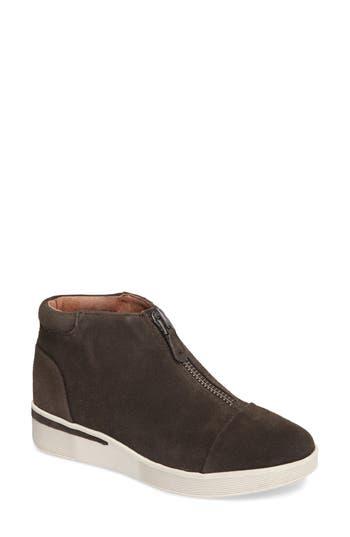 Gentle Souls Hazel Fay High Top Sneaker- Grey
