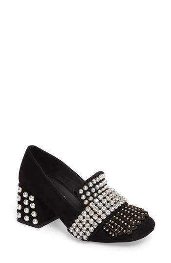 Jeffrey Campbell Bernice Embellished Pump, Black