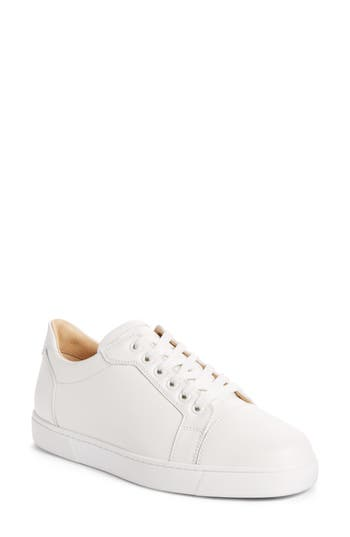 Christian Louboutin Veira Lace-Up Sneaker - White