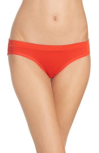 Zella Body Mesh Active Bikini, Red
